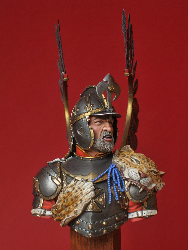 Figures: Polish hussar, 17th cent., photo #5