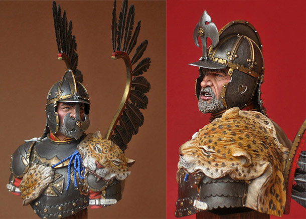 Figures: Polish hussar, 17th cent.