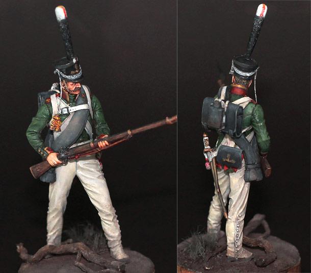 Figures: NCO, grenadiers regt., Russia 1812-14