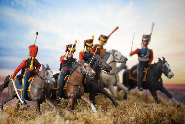 Dioramas and Vignettes: Guard Black Sea Сossacks company