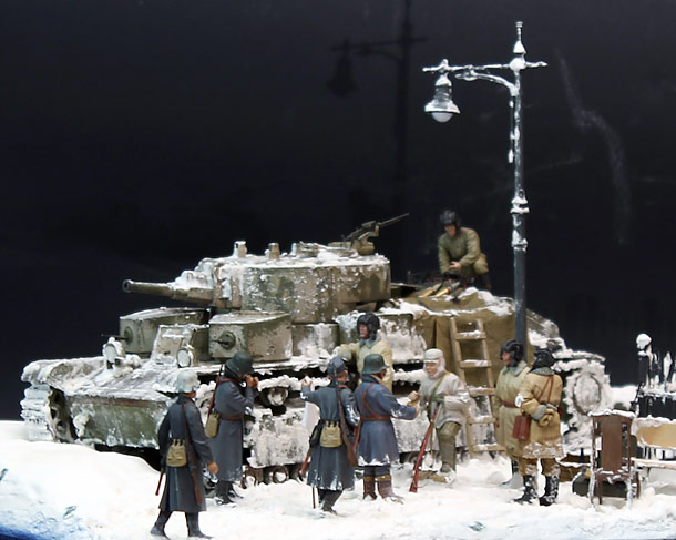 Dioramas and Vignettes: Zinovy Kolobanov. Part 1: Finnish «brothers»