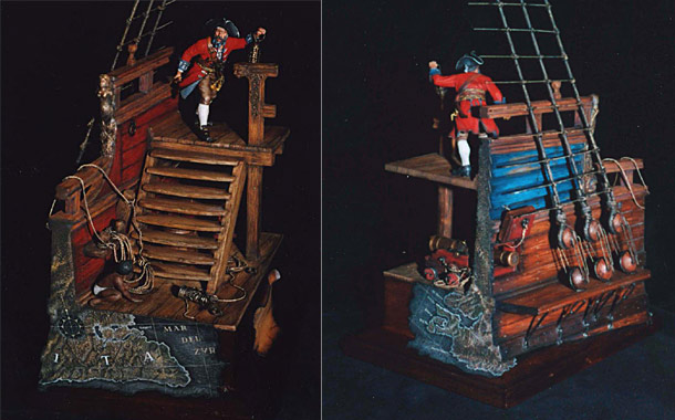 Dioramas and Vignettes: Pirate Ship
