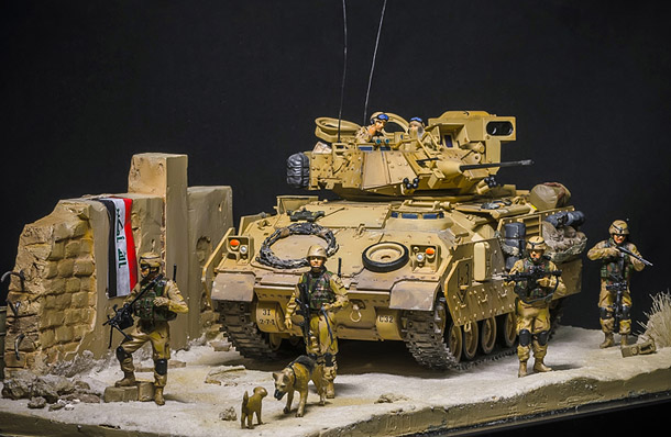 Dioramas and Vignettes: Patrol in the Baghdad suburbs