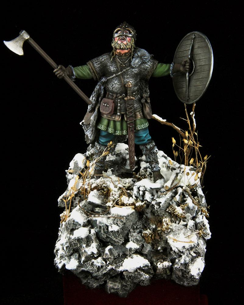 Figures: Scandinavian warrior, photo #1