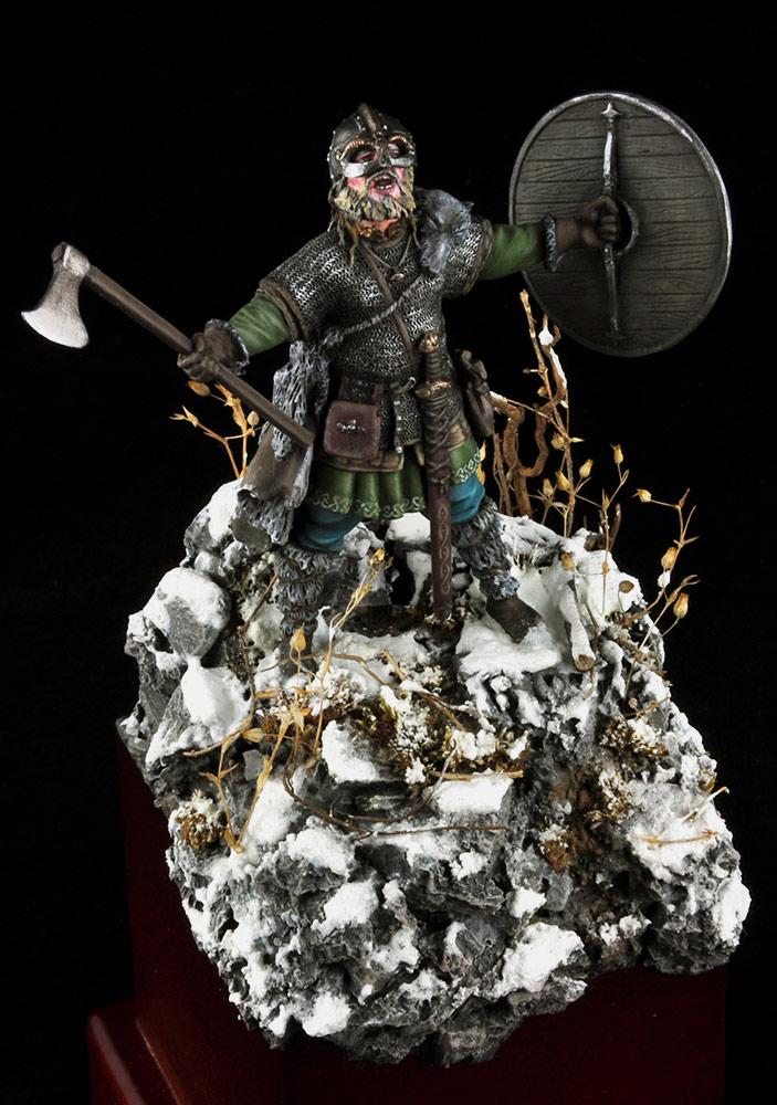 Figures: Scandinavian warrior, photo #10