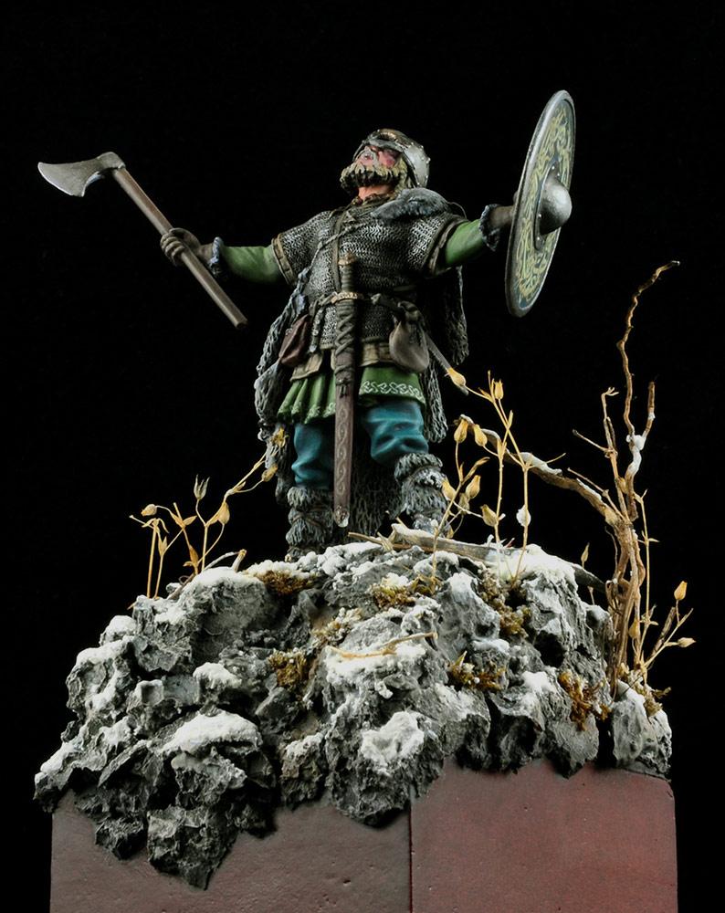 Figures: Scandinavian warrior, photo #12