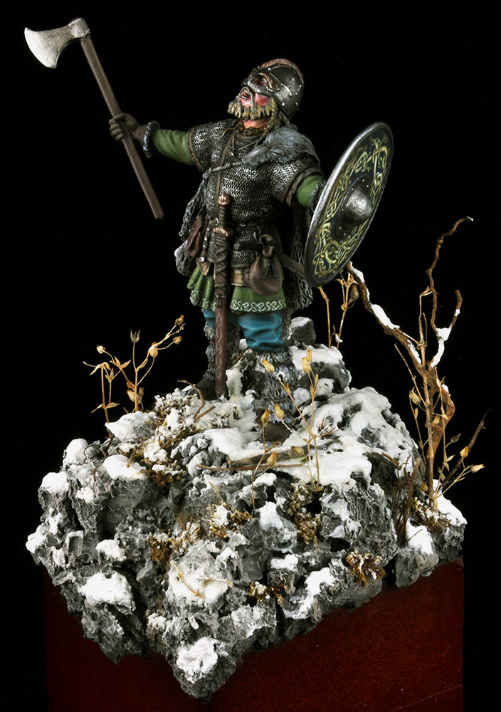 Figures: Scandinavian warrior, photo #3