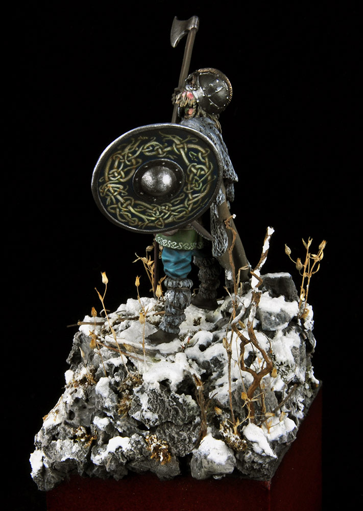 Figures: Scandinavian warrior, photo #4
