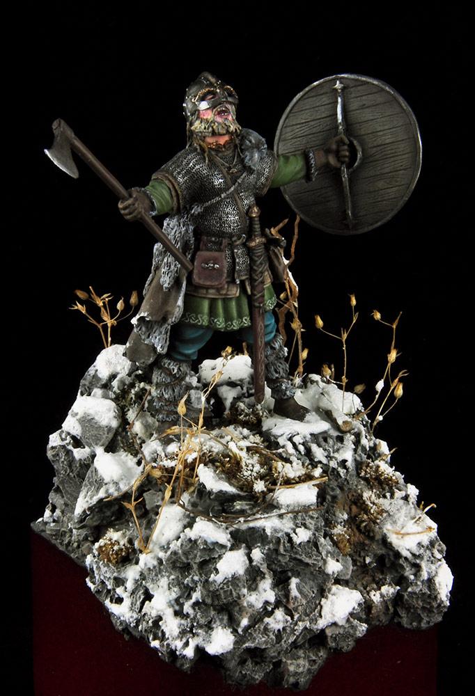 Figures: Scandinavian warrior, photo #9