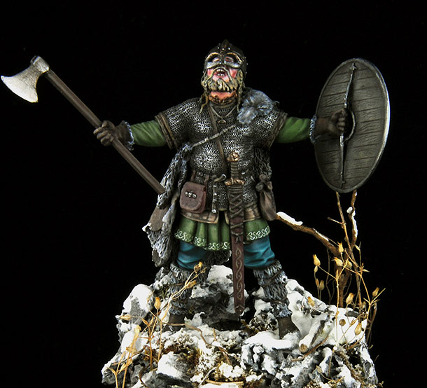 Figures: Scandinavian warrior