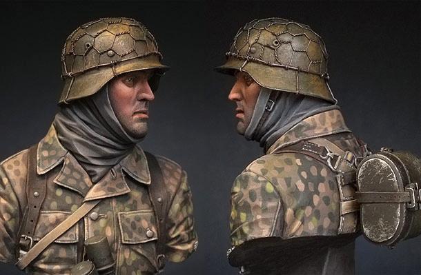 Figures: SS Panzergrenadier, 1944