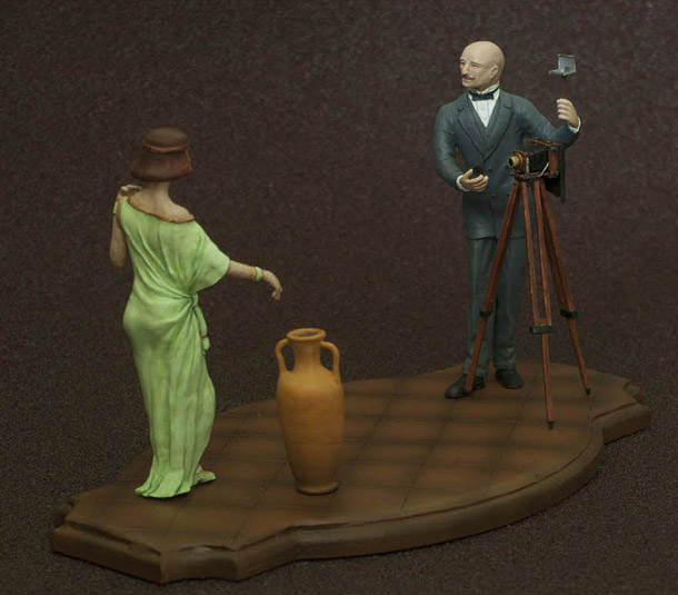 Sculpture: Photographer and Model