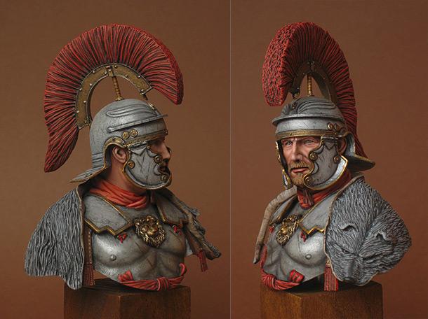 Figures:  Ad Gloriam Romae. Military tribune, 1st cent. A.D.