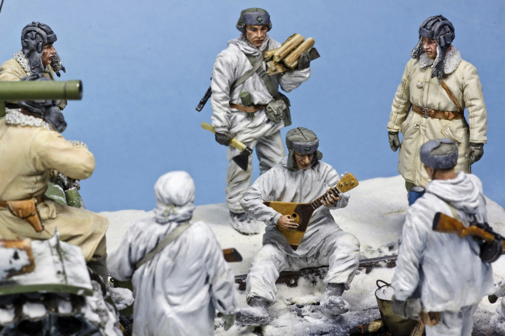 Dioramas and Vignettes: In the frontline forest, photo #15