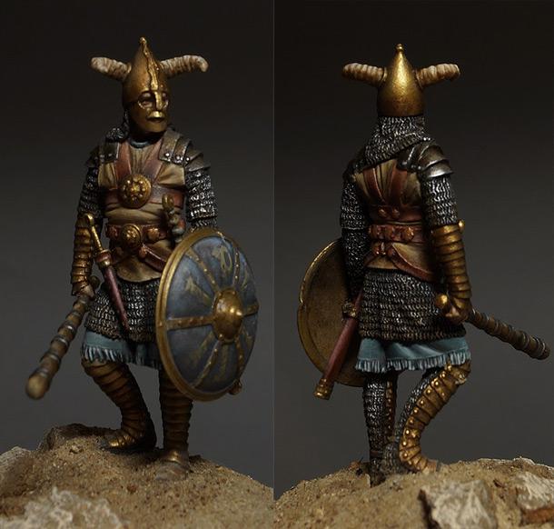 Figures: Sasanian warrior