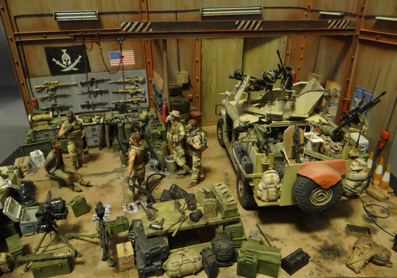 Dioramas and Vignettes: Enforcement to democracy, photo #1