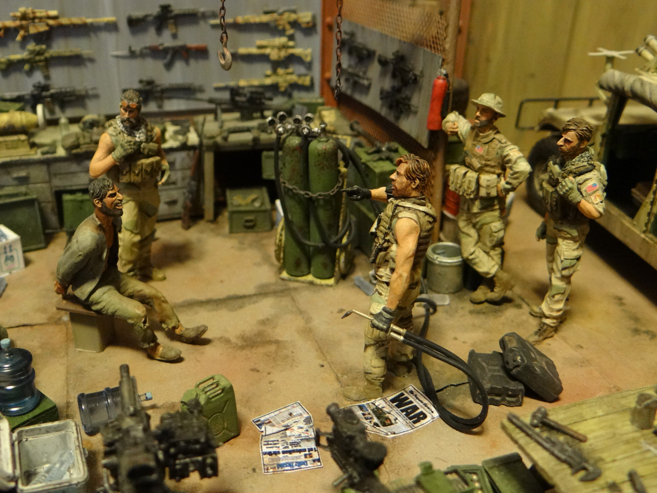 Dioramas and Vignettes: Enforcement to democracy, photo #5