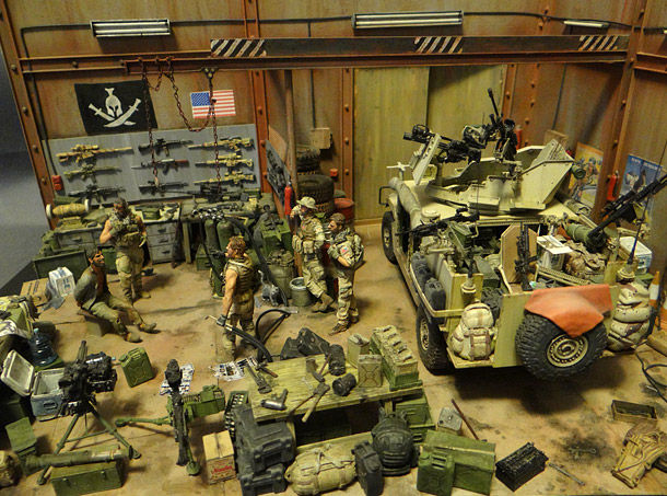 Dioramas and Vignettes: Enforcement to democracy