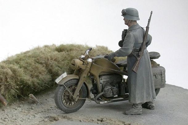 Dioramas and Vignettes: Ende der Autobahn, Minsk