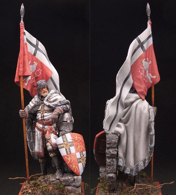 Figures: Luther von Braunschweig, Grossmeister of the Teutonic Order