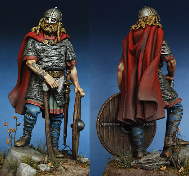Figures: Viking warlord, 10th century
