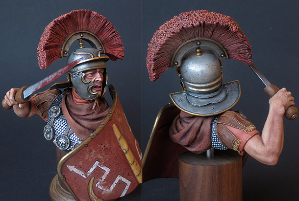 Figures: Ad Gloriam Romae. Centurion, 1st century A.D.