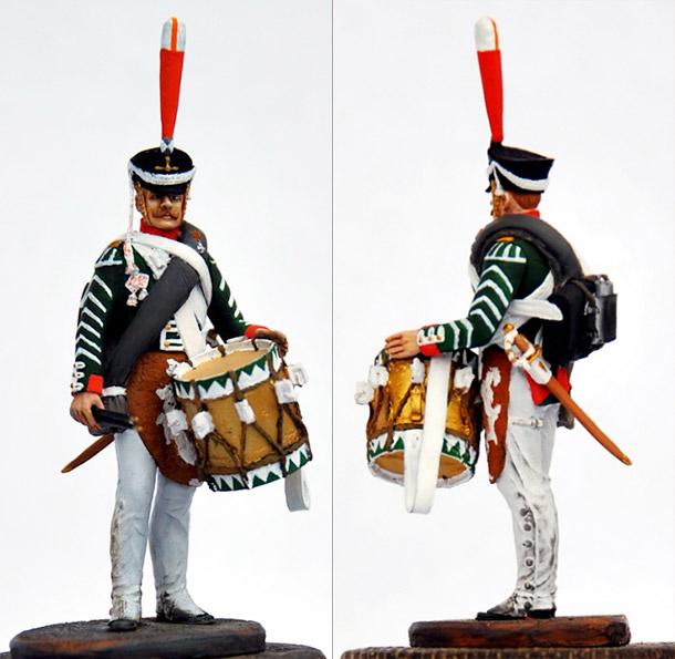 Training Grounds: Drummer, grenadiers company, Selenginsky infantry regt.