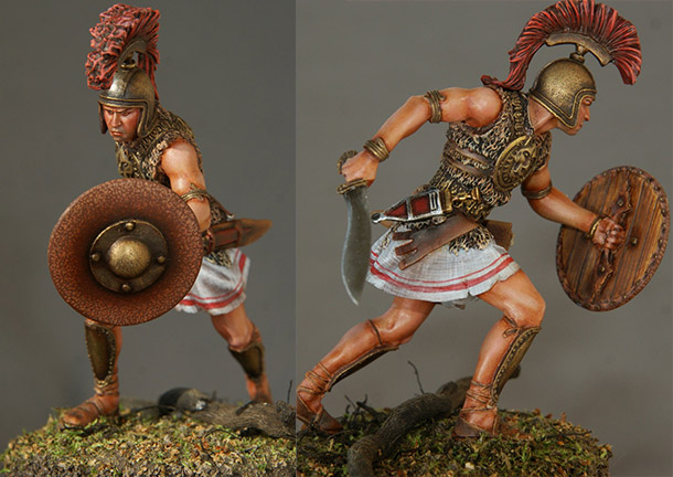 Figures: Iberian warrior