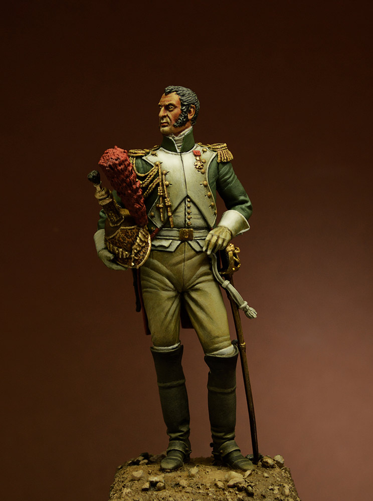 Figures: Officer, Guard Dragoons, 1815, photo #1