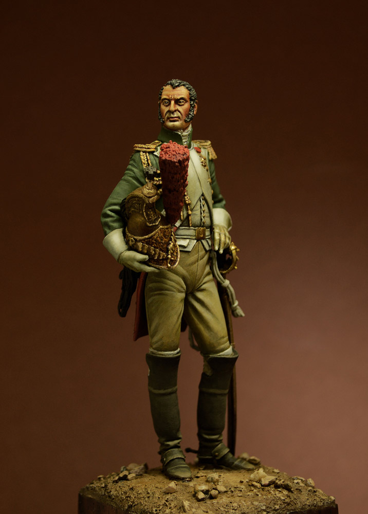 Figures: Officer, Guard Dragoons, 1815, photo #2