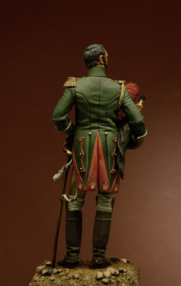 Figures: Officer, Guard Dragoons, 1815, photo #4