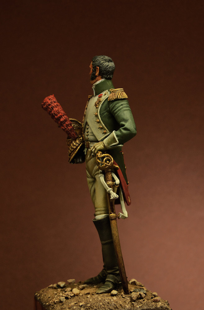Figures: Officer, Guard Dragoons, 1815, photo #5