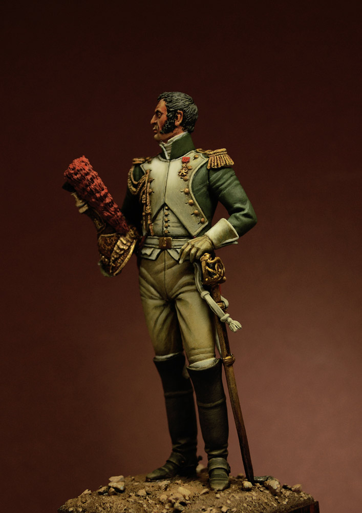 Figures: Officer, Guard Dragoons, 1815, photo #6