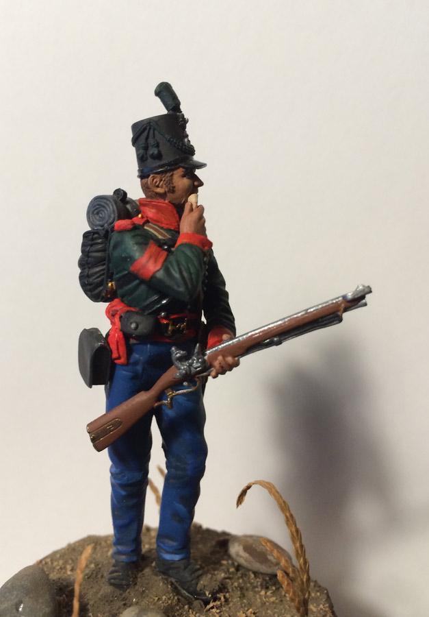Training Grounds: British sergeant, 60th rifles regt., 1813-14, photo #1