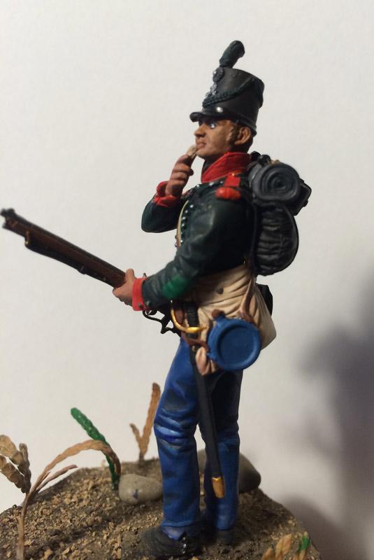 Training Grounds: British sergeant, 60th rifles regt., 1813-14, photo #2