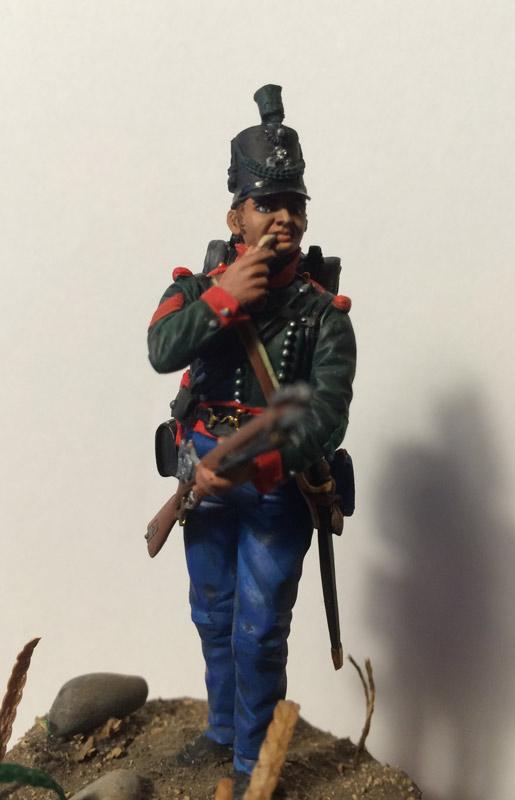 Training Grounds: British sergeant, 60th rifles regt., 1813-14, photo #4