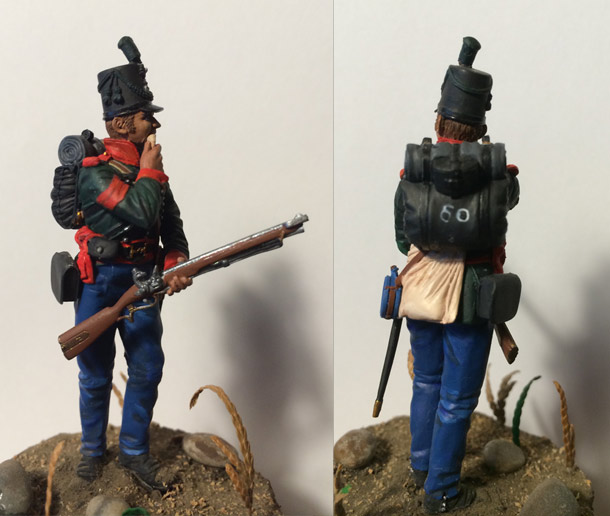 Training Grounds: British sergeant, 60th rifles regt., 1813-14