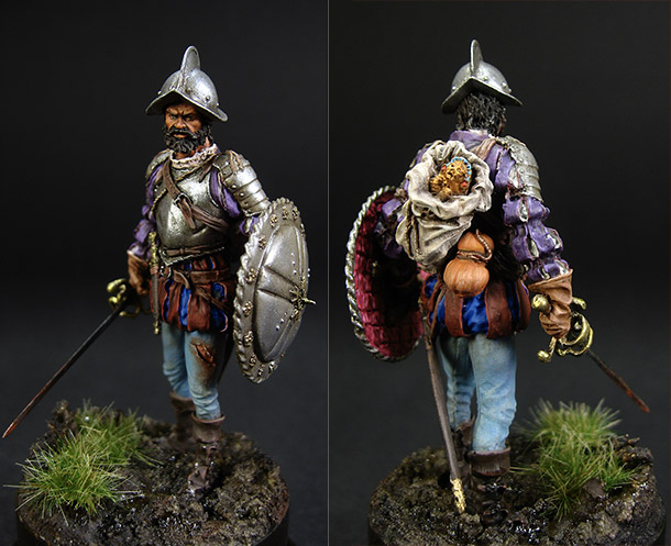 Figures: Spanish conquistador, 1560-1600