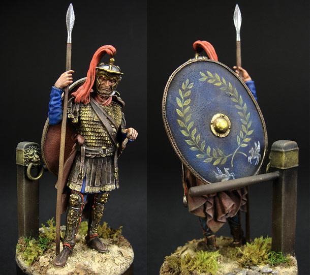 Figures: Roman cavalryman
