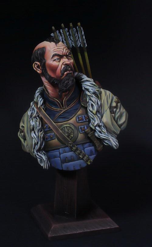 Figures: Mongol warrior, photo #1