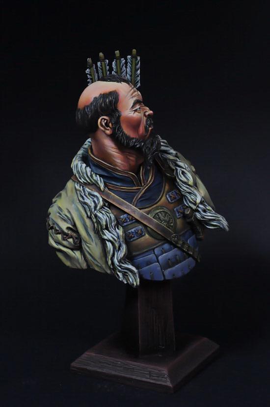 Figures: Mongol warrior, photo #5