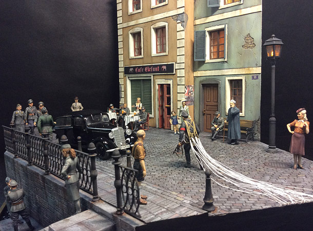 Dioramas and Vignettes: The return of the fixed-post spy