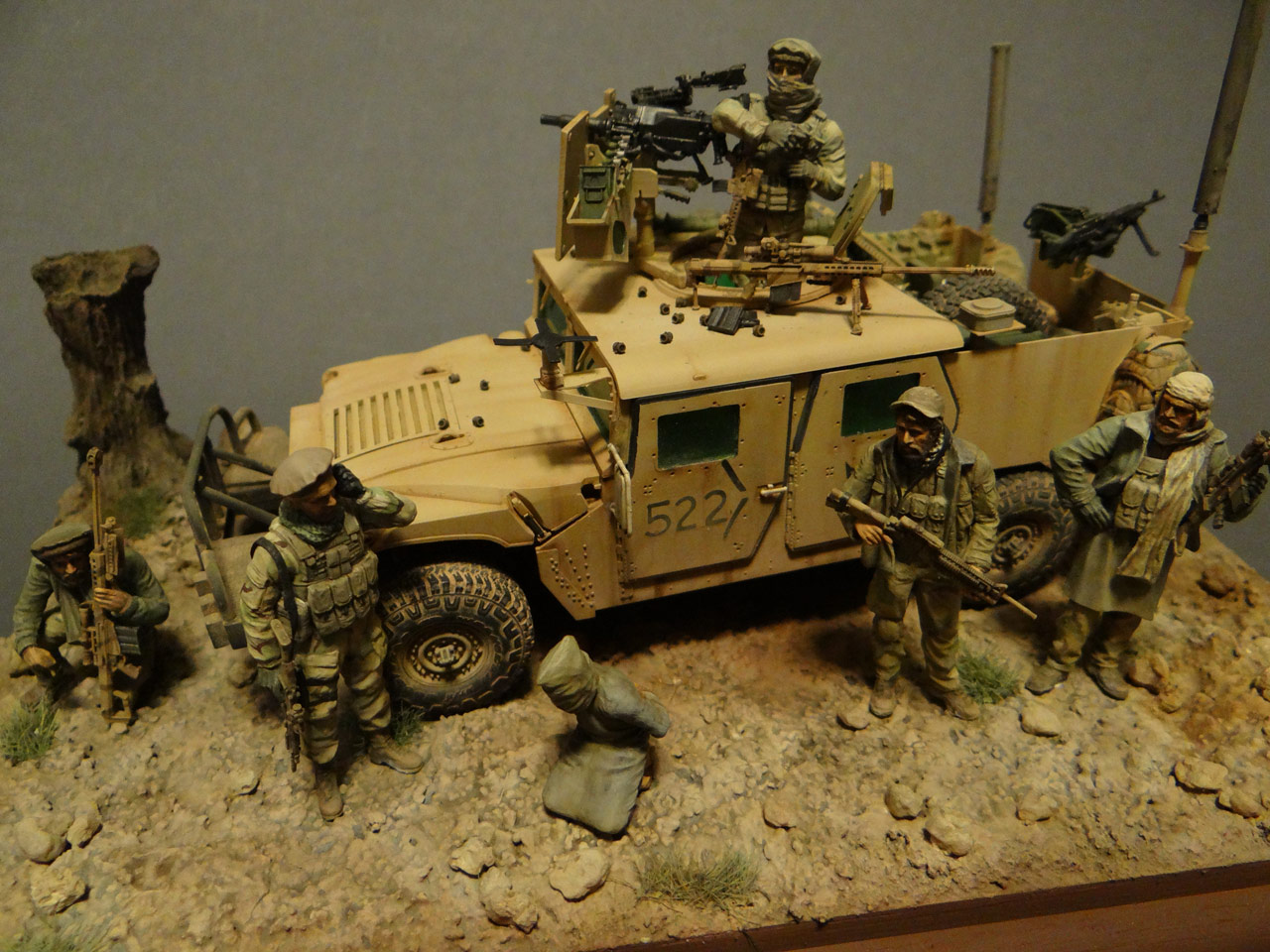 Dioramas and Vignettes: Behind the enemy's lines, photo #1
