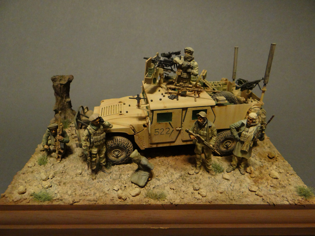 Dioramas and Vignettes: Behind the enemy's lines, photo #2