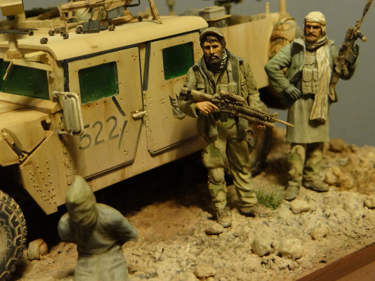 Dioramas and Vignettes: Behind the enemy's lines, photo #3