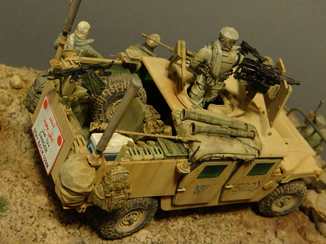 Dioramas and Vignettes: Behind the enemy's lines, photo #4