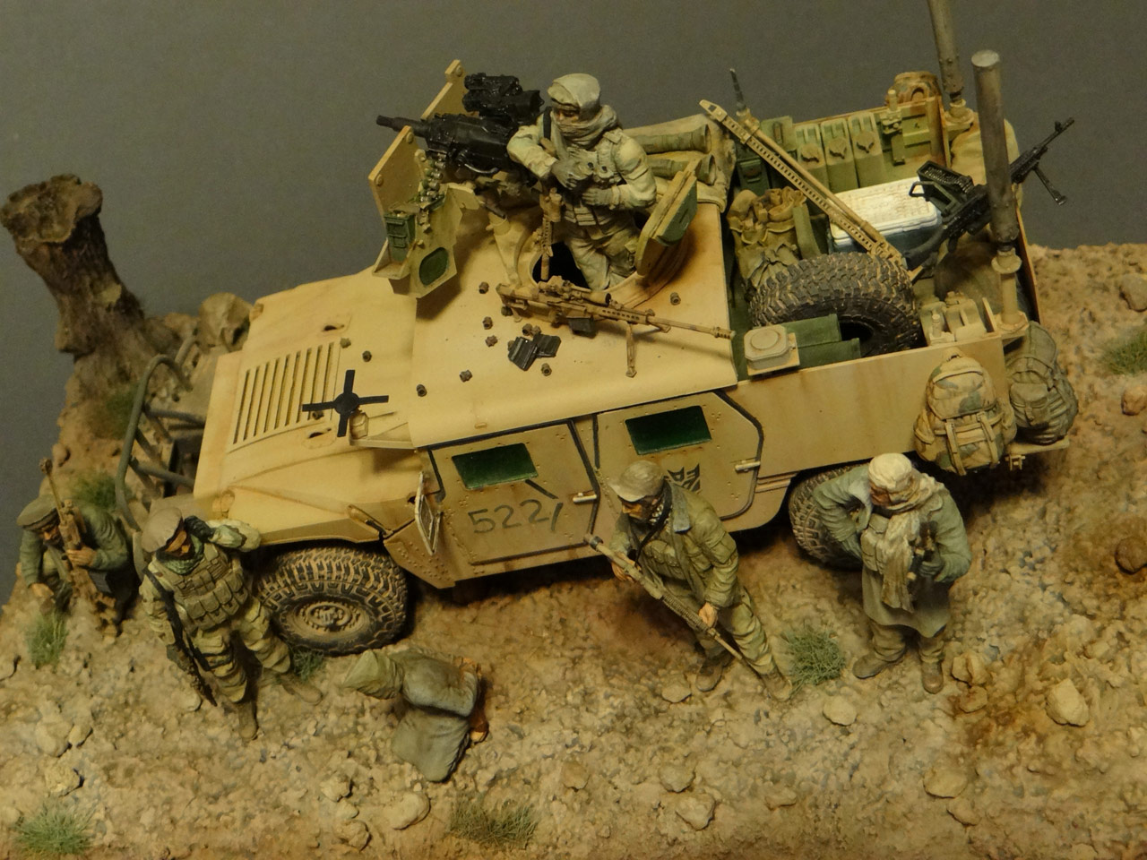 Dioramas and Vignettes: Behind the enemy's lines, photo #5