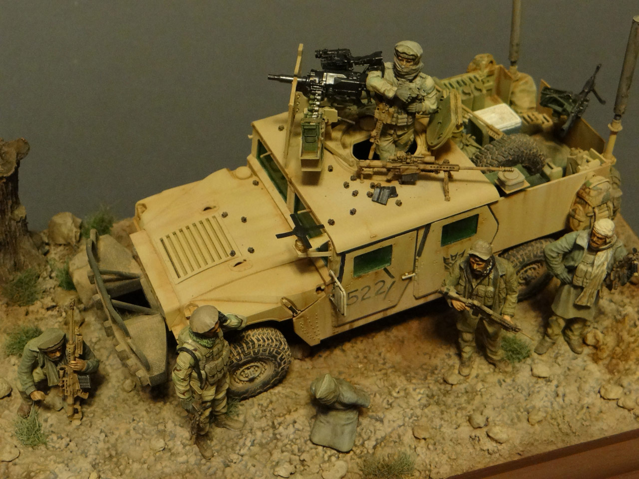 Dioramas and Vignettes: Behind the enemy's lines, photo #6