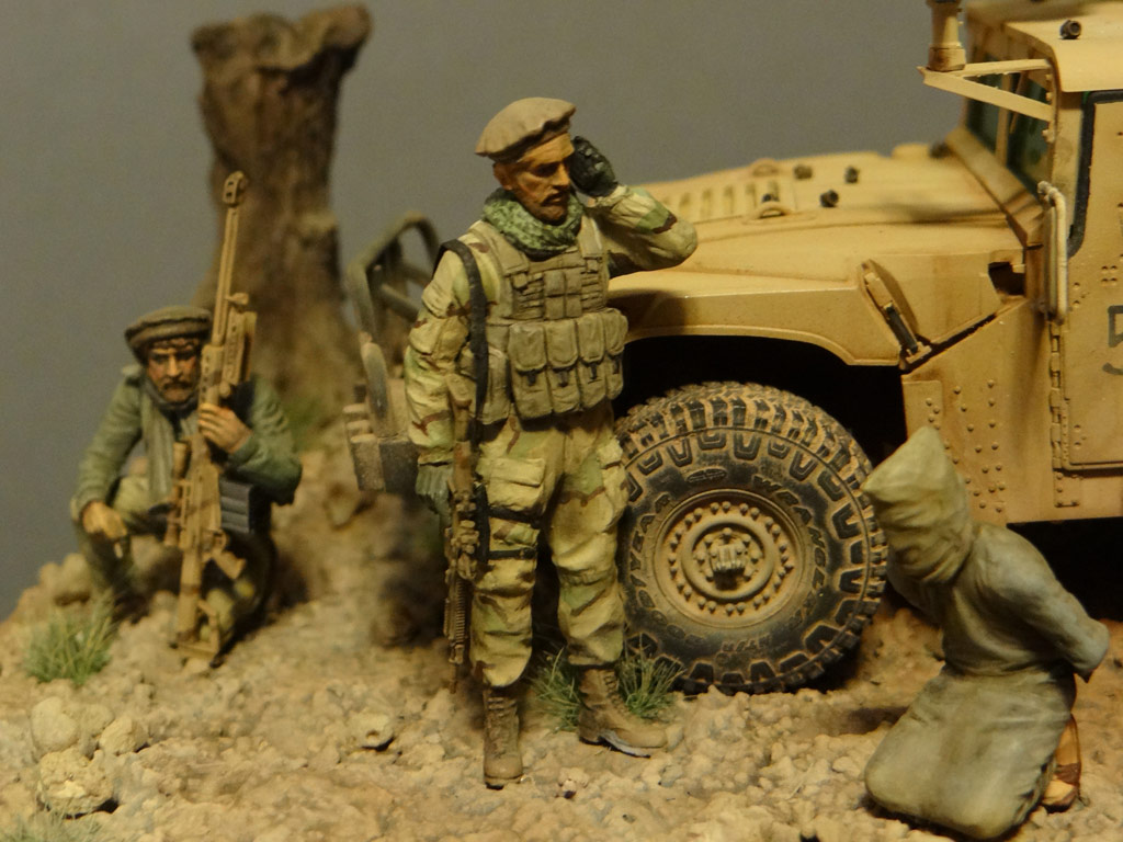 Dioramas and Vignettes: Behind the enemy's lines, photo #8