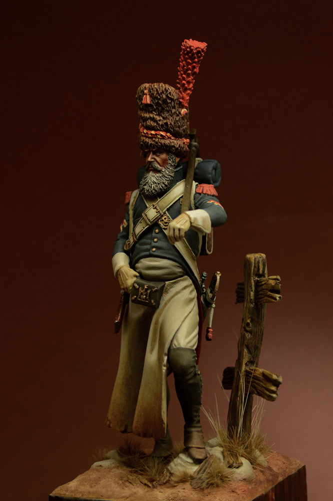 Figures: Sapper, foot grenadiers of the Emperor's Guard, 1806-07, photo #8